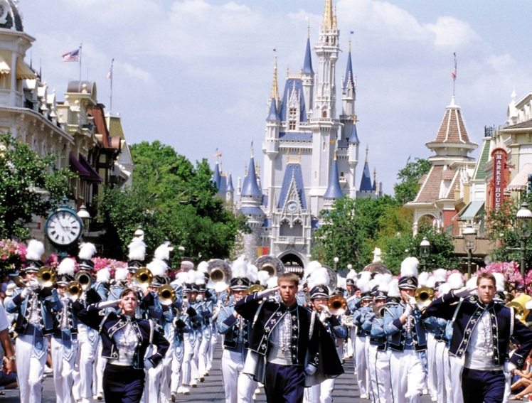 High_Res_MMD_Marching_Band_MK_Castle